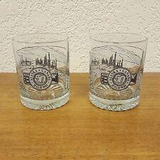 2 Alaska Canada Highway 50 Years Commemorative Tumbler Glasses Barware - 4