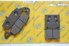 fits GS500 1996-15 Front Rear Brake Pads SUZUKI GS 500 97 98 99 01 03 05 07 09