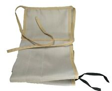 CLOTH BAG, ROD SOCK FOR 8FT 2PC LIGHT TAN WITH 2 TIPS FOR A BAMBOO  FLY ROD