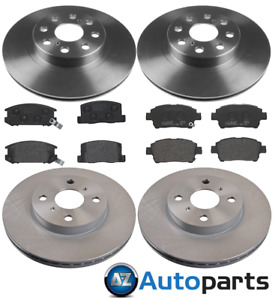 For Toyota - MR2 1.8 VVTi 16V 1999-2006 Front & Rear Brake Discs and Pads