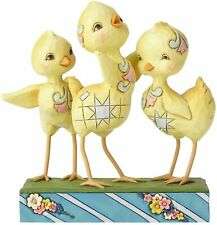 Jim Shore Heartwood Creek Trio of Chicks