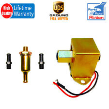 New 12V Universal Electric Fuel Pump Metal Solid Diesel Petro 4-6 PSI 40016G