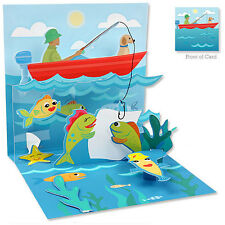 Up With Paper - CATCH A FISH - Birthday, Father's Day, Retire - #UP-WP-971