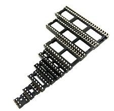 Wipe Contact Soldertail Ic Sockets 6 Pin To 64 Pin 03 To 07