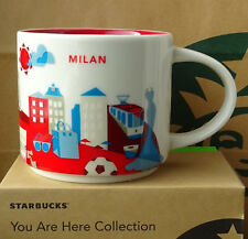 Starbucks City Mug Tasse Becher You are here YAH Milan Mailand Italien 14oz NEU