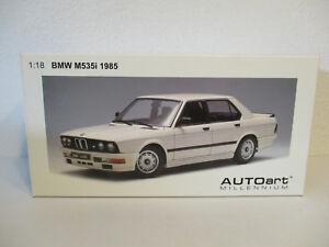 (Gol ) 1:18 AUTOart BMW M 535i 1985 Conversion New Boxed