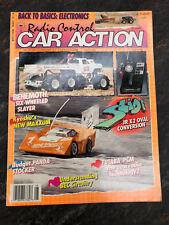 Vintage Radio Control Car Action magazine RCCA August 1989 RC