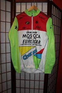 Mosoca Eurocar Chazal Team descente cycling jersey size L .ALY