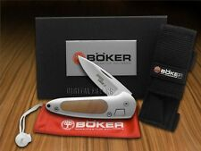 BOKER TREE BRAND Aluminum & Thuya Speed Lock 2 Stainless Pocket Knives Knife