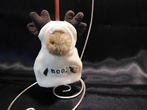 "Boyds Bears Plush Halloween MOOSE ORNAMENT ""LIL' BOO"" - EC"