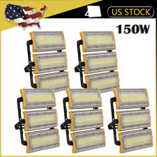5 x150W COB LED Flood Light Outdoor Wall Spotlight Landscape Garden 3000K Lamp