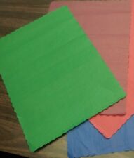 """(1000) GREEN PLACEMATS 14"""" x 10"""" DISPOSABLE PAPER (1000 PER BOX ) GREEN COLOR"""