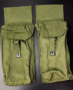 SAS Style Drop Ammo Pouches Made From British Army 1958 Large Pack Side Pockets