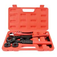 """IWISS Pex Pipe Crimping Tool kit for 3/8""""-1"""" Copper Ring with Cutter ASTM F1807"""