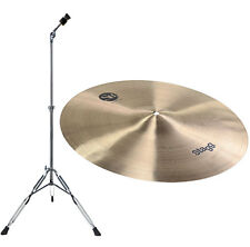 "Stagg SH Thin Crash 16"" sh-ct16r + lyd-25 cuenca soporte precisamente"
