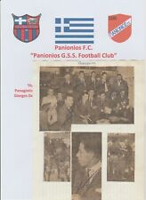 PANIONIOS OF GREECE 1966-1967 RARE ORIG TEAM GROUP + PICTURES 18 X AUTOGRAPHS