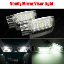 2Pcs LED Car Interior Light Vanity Mirror Lamp For VW GOLF Mk4 Mk5 MK6 PASSAT B6