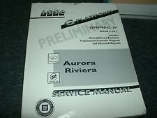 1996 BUICK RIVIERA OLDSMOBILE AURORA FACTORY SHOP SERVICE MANUAL ORIGINAL