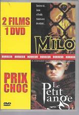 DVD ZONE 2 / 2 FILMS--MILO & LE PETIT ANGE--