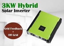 3000w Solar Hybrid inverter 48v off grid  +On grid high PV input 500vdc
