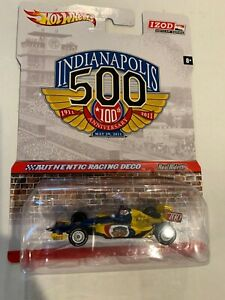 2011 Indianapolis 500 100th Anniversary 1:64 Event Die-Cast Hot Wheels IndyCar