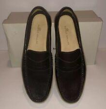 Peter Millar Napa Driver MF18F20 Men's Size 9, 11 Dress Shoes Dark Brown Loafers