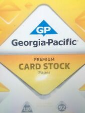 110lb. White Card Stock 50 Sheets!! **Free Shipping**