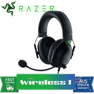 Razer BlackShark V2 X Multi Platform Wired Esports Gaming Headset - Black RZ0...
