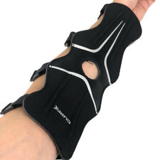 Archery Arm Guard Arm Protect Outdoor Hunting Target Shooting 4 Strap Black
