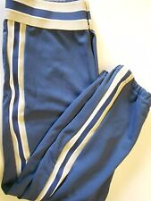"Nos Vtg '80's Rawlings Men's Baseball Pants Large 33-35"" Gunmetal Blue Tan Usa"