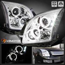 2006-2009 Ford Fusion LED+Halo Crystal Clear Projector Headlights Left+Right