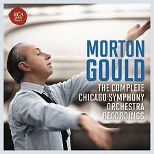 MORTON GOULD - THE CHICAGO SYMPHONY ORCHESTRA RECORDINGS 6 CD NEU