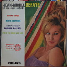 """JEAN MICHEL DEFAYE ET SON GRAND ORCHESTRE  CHEESECAKE COVER 45t 7"""" FRENCH EP"""