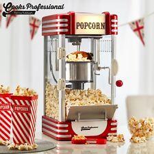 Cooks Professional Retro Popcorn Maker Popper Machine 1950s Cinema Style 310W
