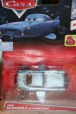 """DISNEY PIXAR CARS 2 """"FINN McMISSILE W/ BREATHER"""" NEW IN PACKAGE, SHIP WORLDWIDE"""