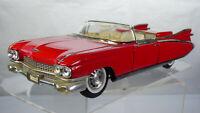 Vintage Classic 1959 Cadillac Eldorado Biarritz 1:18 Red Collectible Toy Car
