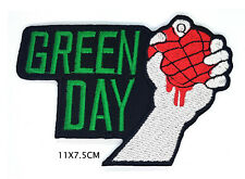 GREEN DAY ROCK BAND IRON/SEW ON PATCH
