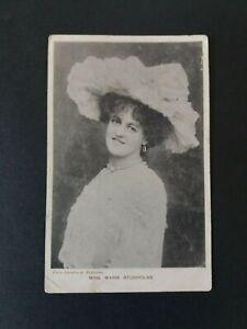 Vintage Pre 1914  Miss  Marie  Studholme  Inverness Postmark  1904