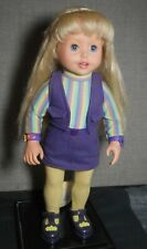 """Amazing Talking Ally Doll 1999 Talks And Mouth Moves 18"""" Guc"""