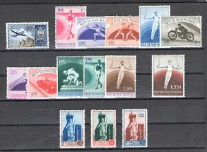 1954 San Marino Annata Completa , Francobolli 15 val MNH**