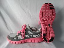 Nike Free Run 2 EXT Damen Sneaker Runner grau-pink EU 40,5 US 9