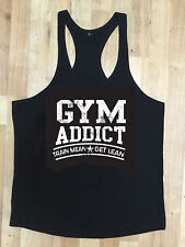 MMA Gym Bodybuilding Motivation Vest Best Workout Clothing Training Top