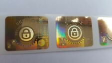 Doclock Stickers Seal hologram labels tamper evident x 1000 security serials T/E