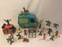 Scooby Doo vehicle Van Toy Action figures bundle Kids Childrens Toys Job Lot Set