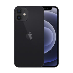 New Apple iPhone 12 Mini - 64 GB - Unlocked - Black - Apple Warranty - Bargain!