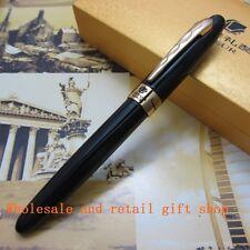 Hero Liseur 931 Fountain Pen Black and Gold CliP metal Gift pen