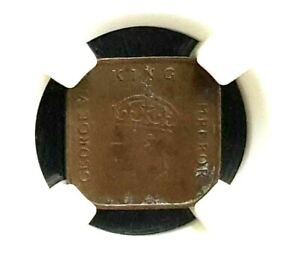 1939 MALAYA GEORGE VI One Cent Copper Coin  (+1Free Coin)#D9182