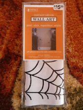 Happy Halloween Instant Decor Wall Art  Spider Web