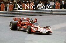 Carlos Reutemann Martini Brabham BT45 Monaco Grand Prix 1976 Photograph 1