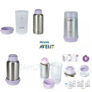 Baby Bottle Warmer Philips AVENT  Quickly Warm up Feeds Travel Bottle
